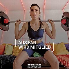 Digitale Fitnessfans – LES MILLS