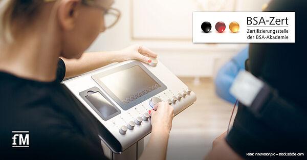Vorreiter in Sachen EMS-Zertifizierung: BSA-Zert – 'Fachkunde EMF' zur Stimulation gemäß NiSV.