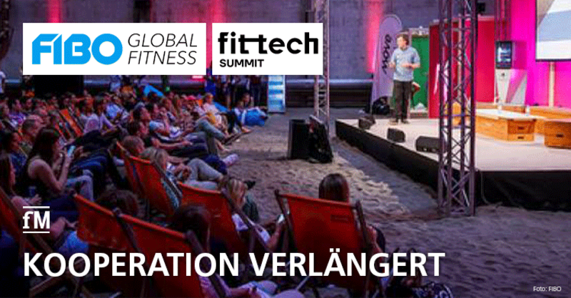 'FitTech Summit: FIBO Edition': FIBO und FitTech Company verlängern ihre Kooperation