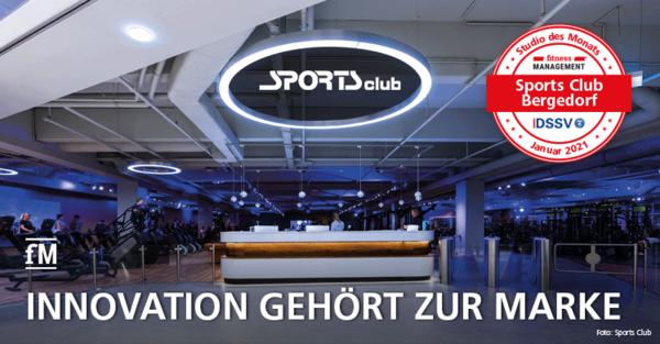 Der Sports Club in Hamburg Bergedorf ist unser Studio des Monats.