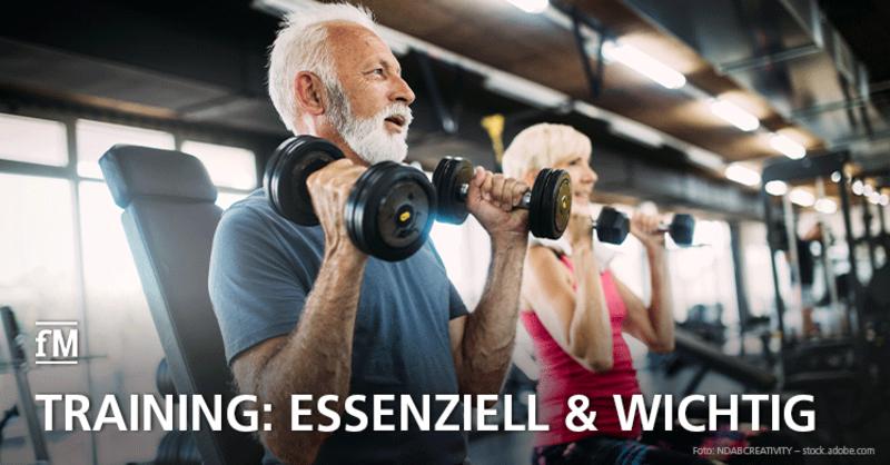 Fitnesstraining aus Sicht der Fitnessstudiomitglieder gesundheitsrelevant und wichtig