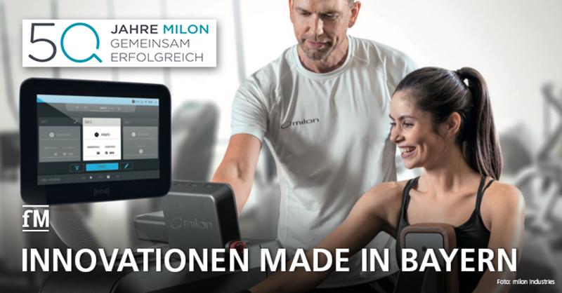 1970-2020: 50 Jahre milon industries Geräteinnovationen aus Bayern
