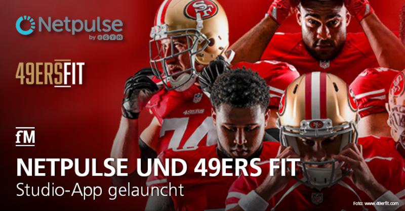 Netpulse und 49ers Fit launchen App für Fitnessstudios.