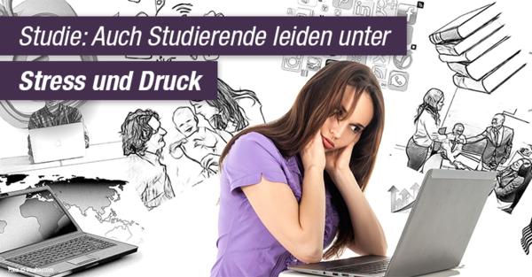 Stress und Burnout schon im Studium: Studie gibt Anlass zur Sorge