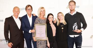 Große Freude auch bei den Preisträgern des 'myline Excellence Partner'Awards