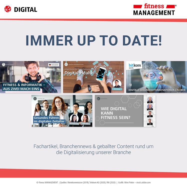 Weitere Artikel über Digitalisierung und digitalen Wandel bei fM – Infografik zum Digitalisierungsindex Mittelstand 2019/2020