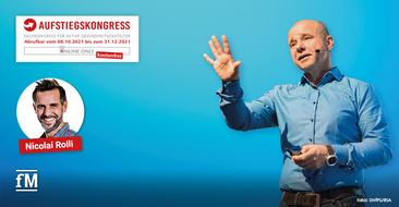 Aufstiegskongress 2021: Nicolai Rolli – 'Wirkungsvoll führen – sinnorientiert und wertschätzend'
