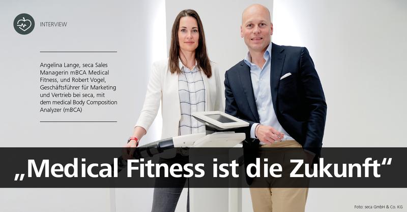 fM Interview mit seca-Geschäftsführer Robert Vogel und Sales Managerin Angelina Lange.