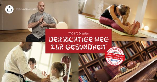 DSSV und fitness MANAGEMENT zeichnen TAO FIT in Dresden aus