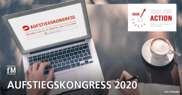 'Aufstiegskongress ONLINE ONLY' – Vorträge und Diskussionsforum Corona kostenfrei bis Ende 2020 abrufbar