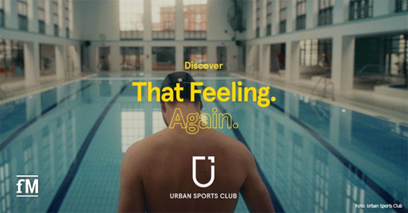 Urban Sports Club Kampagne #ThatFeelingAgain
