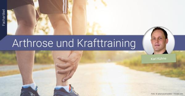 Krafttraining ist eine ideale Trainingsmethode, um Gelenkschmerzen, Arthrose und letztlich eine TEP-OP zu vermeiden.