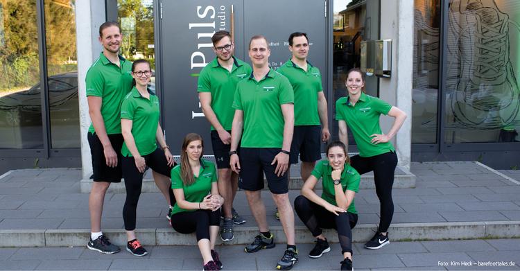 Das Team des Im Puls Eggenstein-Leopoldshafen (von links): Christian Braun, Carolin Starke, Fabienne Kohnle, Lukas Pütz, Andreas Cleve, Simon Ehehalt, Larissa Lindner und Leonie Schmidt