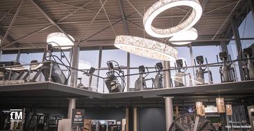 Auf mehreren Ebenen, lichtdurchflutete Räume und Geräteausstattung führender Hersteller im neuen Studio Fitness Rottweil