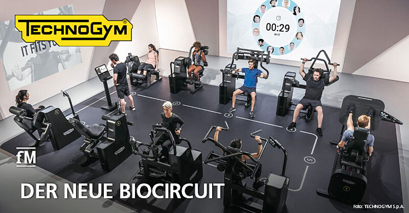 Technogym präsentiert neuen Biocircuit