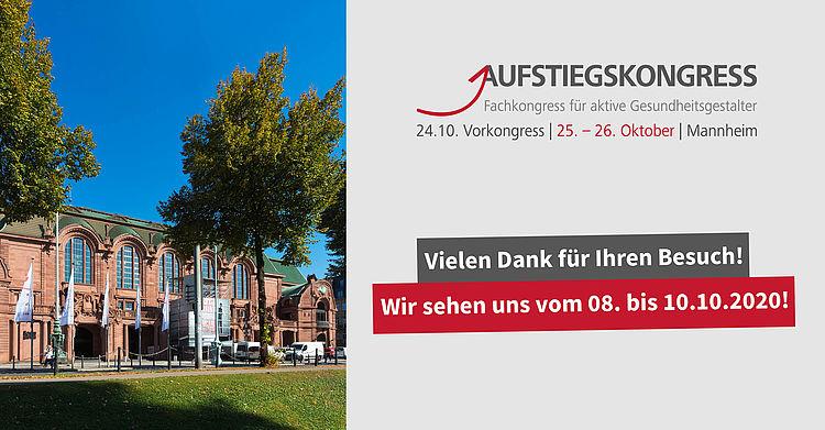 Save-the-date: Aufstiegskongress 2020 vom 8. bis 10. Oktober 2020.