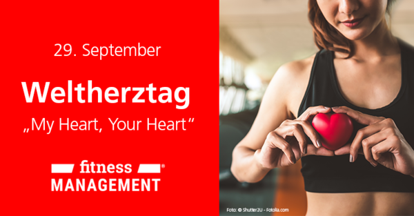 Unter dem Motto 'My Heart. Your Heart' klärt die World Heart Federation(WHF) am Aktionstag über Herzgesundheit auf.