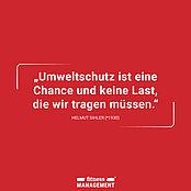 Zitat zum Weltumwelttag von Helmut Sihler