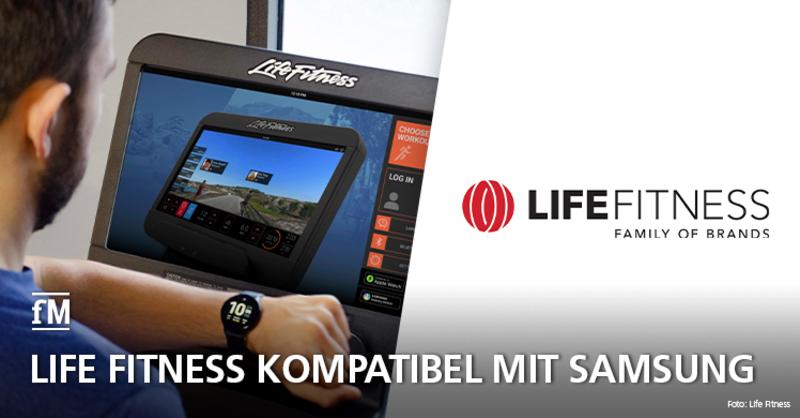 Life Fitness und Samsung kooperieren ab sofort