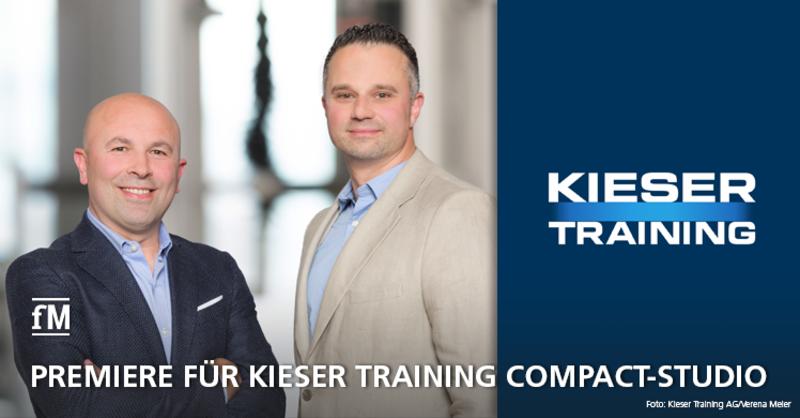 Freuen sich über die Eröffnung des ersten Kieser Training Compact-Studios im baden-württembergischen Heidenheim an der Brenz: Bujar Daci und Marko Babovic (Quelle: Kieser Training AG/Verena Meier)