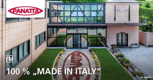 PANATTA srl. produziert seine rund 350 verschiedenen Fitnessgeräte in Italien, der Hauptsitz des Unternehmens befindet sich in Apiro.
