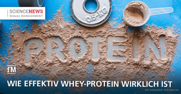 So effektiv ist Whey-Protein wirklich für den Muskelaufbau