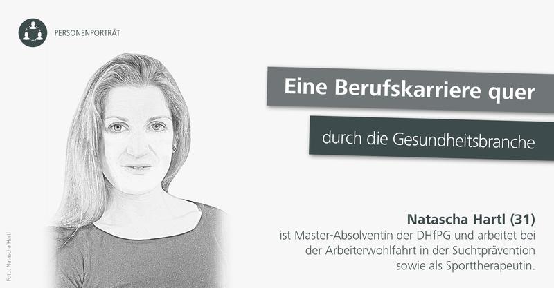 Natascha Hartl: Eine Berufskarriere quer durch die Gesundheitsbranche.