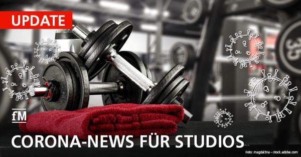 Corona-Update Teil 14: Alle Infos rund um COVID-19 und den Corona-Lockdown für Fitnessstudios, Sport und Gesundheit.
