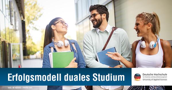 Aktuelle Zahlen belegen starke Nachfrage & hohe Akzeptanz dualer Studiengänge im Fitness- und Gesundheitsmarkt.