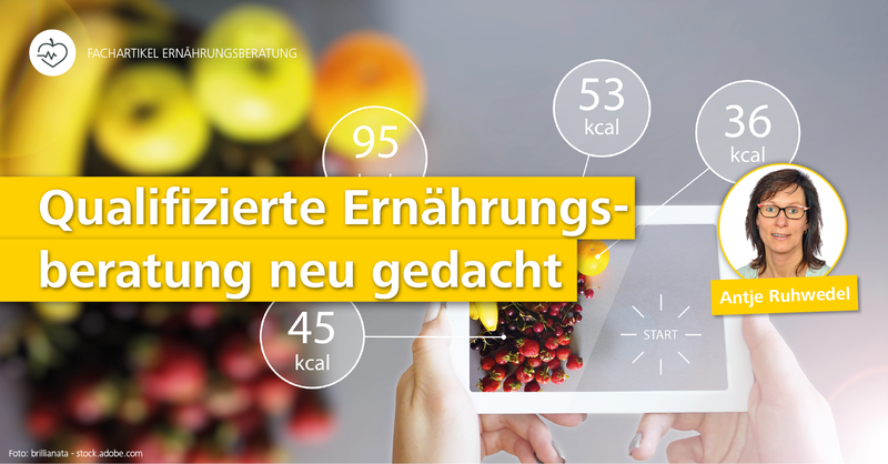 'Qualifizierte Ernährungsberatung neu gedacht': Ernährungsberaterin Antje Ruhwedel ist Referentin auf dem Aufstiegskongress 2019.