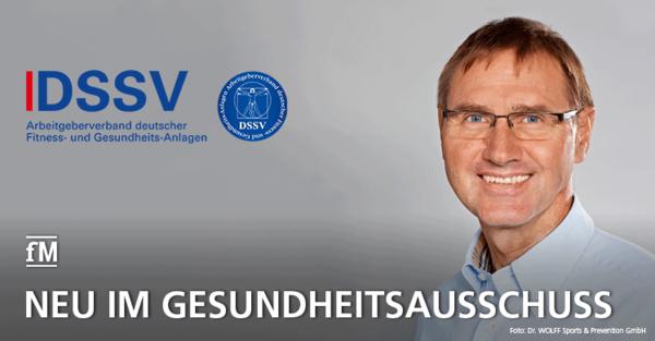 Dr. Hartmut Wolff ist neues Mitglied im Gesundheitsausschuss des DSSV.
