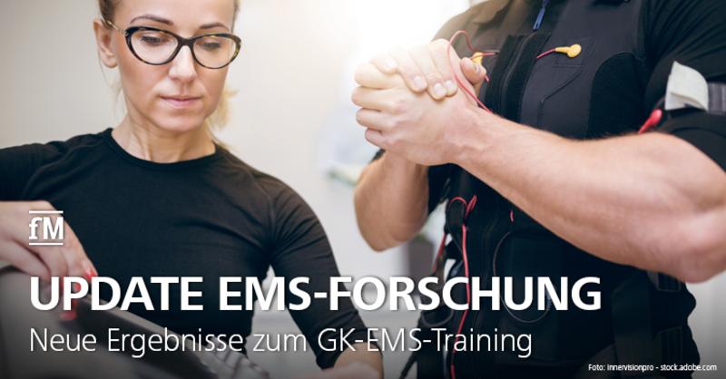 Neue Studienergebnisse zum Ganzkörper-EMS-Training veröffentlicht.