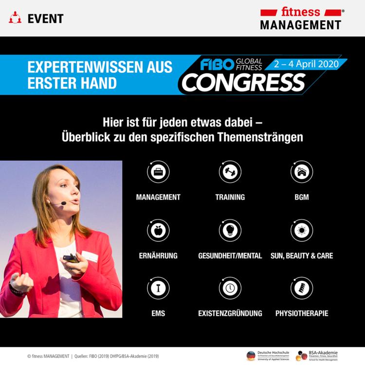 FIBO-Congress 2020: Expertenwissen aus erster Hand