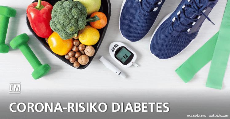 Diabetes Typ 2 begünstigt Corona-Sterblichkeit: Warum gerade im mitlleren Alter eine gute Fitness und eine gezielte Diabetes-Prävention so wichtig wäre.