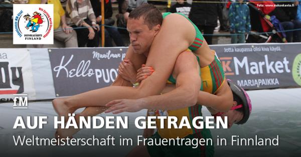 Die Sieger des Spaßrennens mit Kraftsportcharakter kommen 2019 erneut aus Litauen.