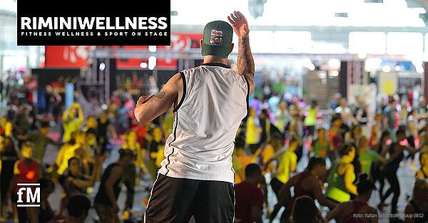 Rimini Wellness in Italien gestartet: Während der Fitnessmesse gilt ein strenges Hygienekonzept der Italian Exhibition Group.