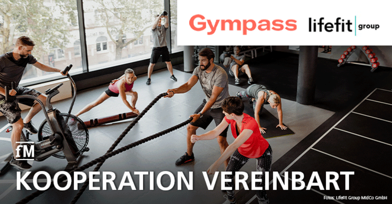LifeFit Group und Gympass vereinbaren Kooperation