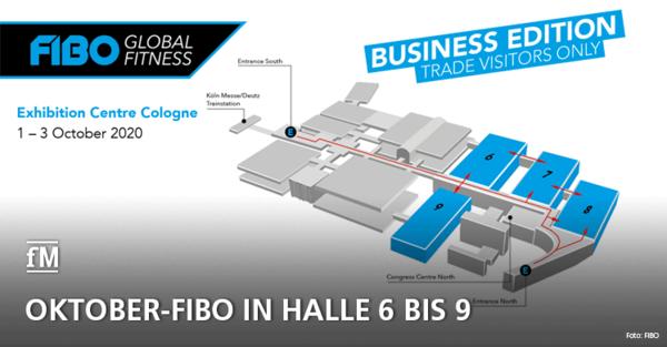 Oktober-FIBO in Halle 6 bis 9