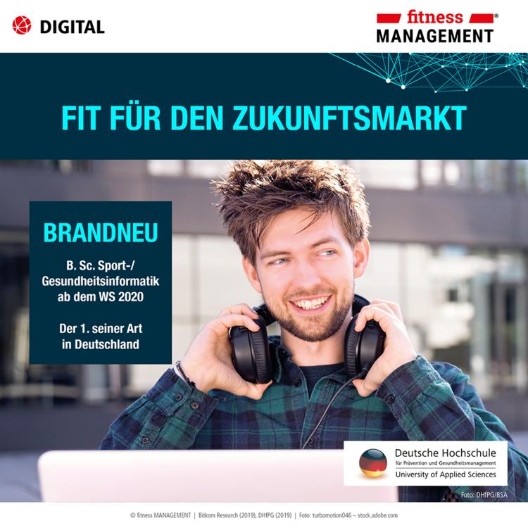 IT-Fachkräftemangel: Neuer Bachelor-Studiengang 'B. Sc. Sport-/Gesundheitsinformatik'