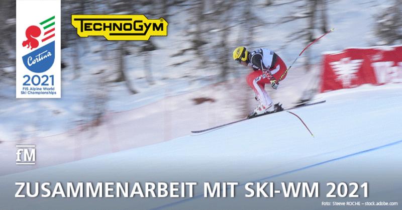 Technogym ist Partner der Alpinen Ski-WM 2021 in Cortina d'Ampezzo