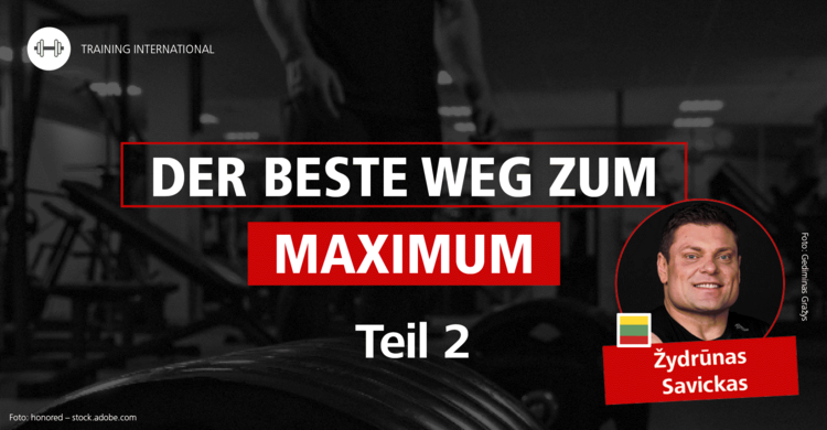 Stark, stärker, Big Z | 'Muskeln, Kraft und Trainingsform – Der beste Weg zum Maximum' Teil 2: Žydrūnas Savickas