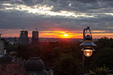 Romantik am Abend: Die DSSV Eventreise nach Belgrad bot auch viele stimmungsvolle Momente.