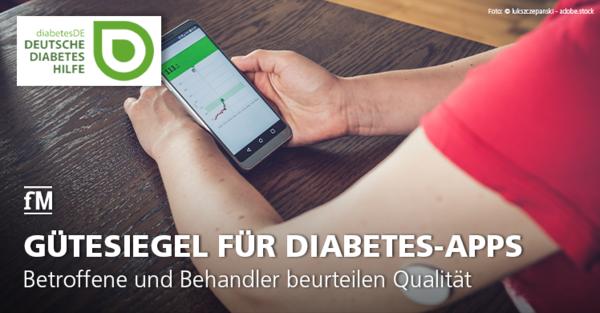 Betroffene und Behandler beurteilen Qualität von Diabetes-Apps gemeinsam und erteilen Gütesiegel 'DiaDigital'.