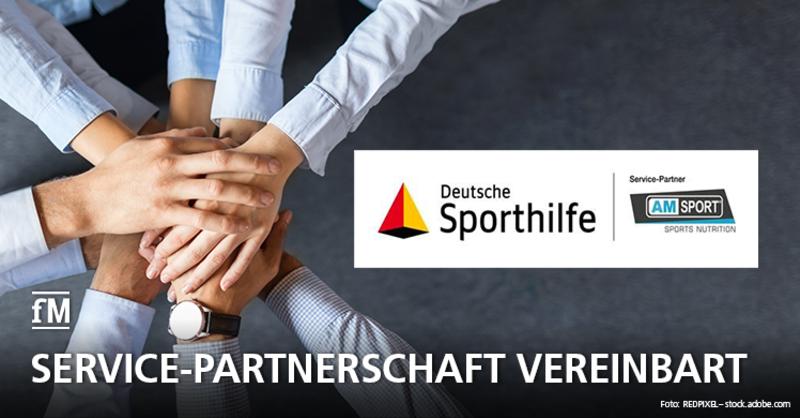 Deutsche Sporthilfe und AMSPORT sind ab sofort Service-Partner