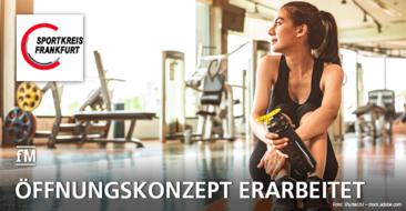 Neues Konzept zur Wiedereröffnung des Sports und den Fitnessstudios