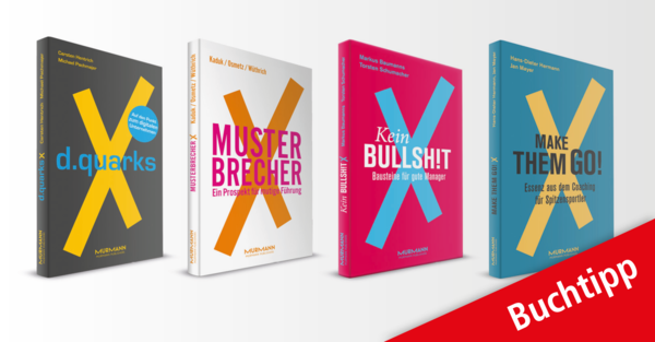 "Praxiswissen & Know-how: Die ""X-Books"" – ein Must-have für innovative Manager."