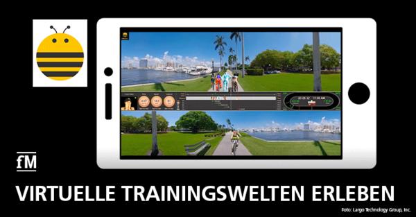 Die Largo Technology Group launcht im ersten Quartal 2020 'FitRacers' und will Sportlern mit der App ein innovatives Trainingserlebnis bieten.