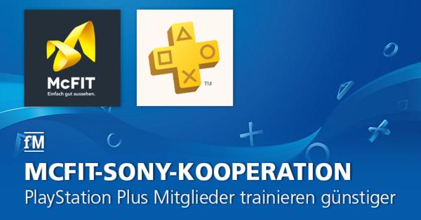 PlayStation Plus Mitglieder trainieren bei Abschluss eines Neuvertrags günstiger bei McFIT oder High5.