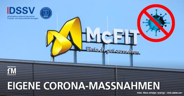 Corona: McFit verschärft die Vorsichtsmaßnahmen für alle seine Fitnessstudios