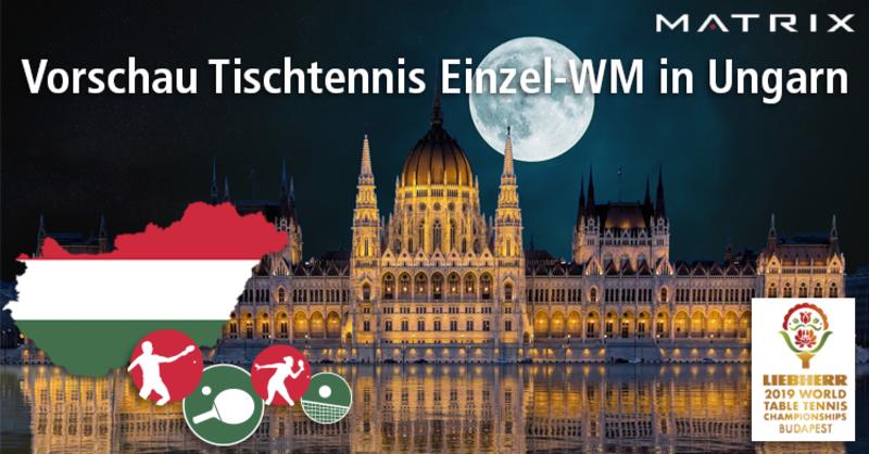 Die Tischtennis-Weltmeisterschaft lockt vom 21. bis 28. April nach Budapest. Ausgetragen werden die Welttitelkämpfe mit 10 Spielern des DTTB in der Hungexpo im Osten der Stadt.